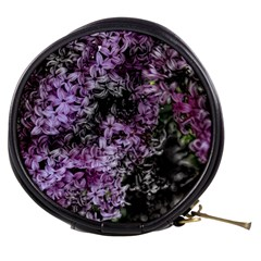 Lilacs Fade To Black And White Mini Makeup Case