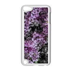 Lilacs Fade To Black And White Apple Ipod Touch 5 Case (white)