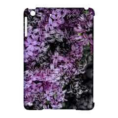 Lilacs Fade To Black And White Apple Ipad Mini Hardshell Case (compatible With Smart Cover)