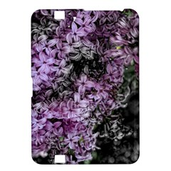 Lilacs Fade To Black And White Kindle Fire Hd 8 9  Hardshell Case
