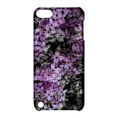 Lilacs Fade To Black And White Apple Ipod Touch 5 Hardshell Case With Stand