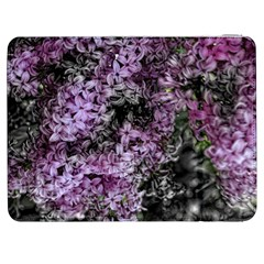 Lilacs Fade to Black and White Samsung Galaxy Tab 7  P1000 Flip Case