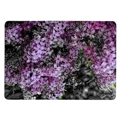Lilacs Fade To Black And White Samsung Galaxy Tab 10 1  P7500 Flip Case