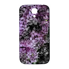 Lilacs Fade To Black And White Samsung Galaxy S4 I9500/i9505  Hardshell Back Case