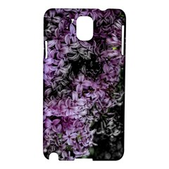 Lilacs Fade To Black And White Samsung Galaxy Note 3 N9005 Hardshell Case