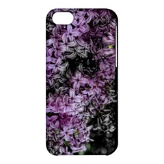 Lilacs Fade To Black And White Apple Iphone 5c Hardshell Case