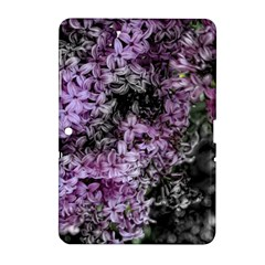 Lilacs Fade to Black and White Samsung Galaxy Tab 2 (10.1 ) P5100 Hardshell Case