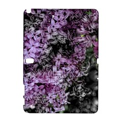 Lilacs Fade To Black And White Samsung Galaxy Note 10 1 (p600) Hardshell Case