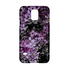 Lilacs Fade To Black And White Samsung Galaxy S5 Hardshell Case