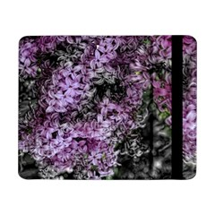Lilacs Fade To Black And White Samsung Galaxy Tab Pro 8 4  Flip Case