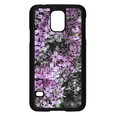 Lilacs Fade To Black And White Samsung Galaxy S5 Case (black)