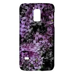 Lilacs Fade To Black And White Samsung Galaxy S5 Mini Hardshell Case