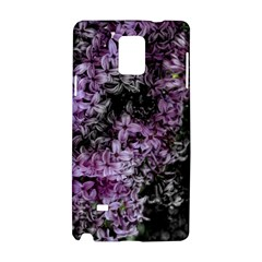 Lilacs Fade To Black And White Samsung Galaxy Note 4 Hardshell Case
