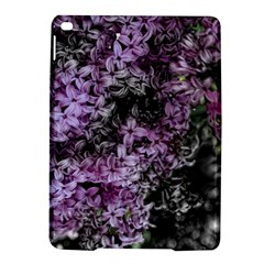 Lilacs Fade to Black and White Apple iPad Air 2 Hardshell Case