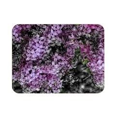 Lilacs Fade to Black and White Double Sided Flano Blanket (Mini)