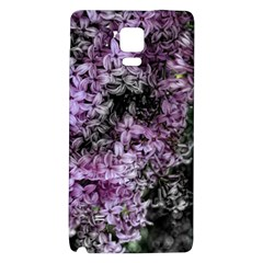 Lilacs Fade to Black and White Samsung Note 4 Hardshell Back Case