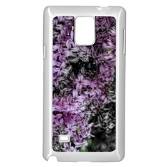 Lilacs Fade To Black And White Samsung Galaxy Note 4 Case (white)