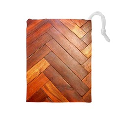 Wood11 Drawstring Pouch (Large)