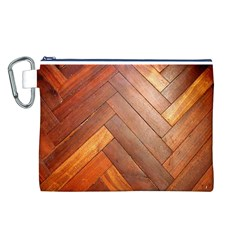 Wood11 Canvas Cosmetic Bag (Large)
