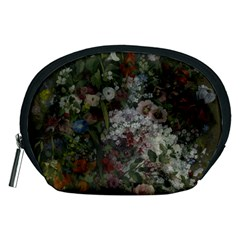 Courbet Bouquet Of Flowers In Vase Accessory Pouch (Medium)