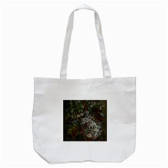 Courbet Bouquet Of Flowers In Vase Tote Bag (White)