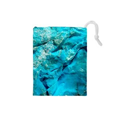 Turquoise Drawstring Pouch (Small)