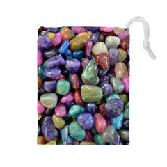 Stones Drawstring Pouch (Large)