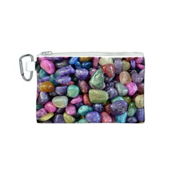 Stones Canvas Cosmetic Bag (Small)