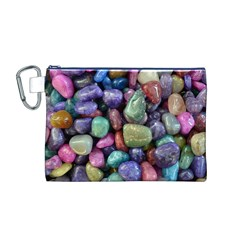 Stones Canvas Cosmetic Bag (medium)