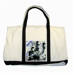Abstract11 Two Toned Tote Bag