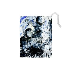 Abstract11 Drawstring Pouch (Small)
