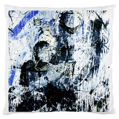Abstract11 Large Flano Cushion Case (Two Sides)