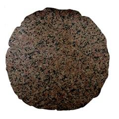 Granite 18  Premium Flano Round Cushion