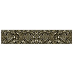 Steam Punk Pattern Flano Scarf (Small)