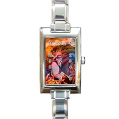 Astral Dreamtime Rectangular Italian Charm Watch