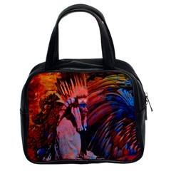Astral Dreamtime Classic Handbag (two Sides)