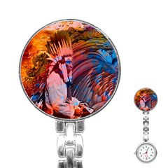 Astral Dreamtime Stainless Steel Nurses Watch