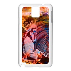 Astral Dreamtime Samsung Galaxy Note 3 N9005 Case (White)