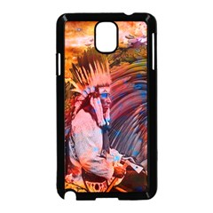 Astral Dreamtime Samsung Galaxy Note 3 Neo Hardshell Case (Black)