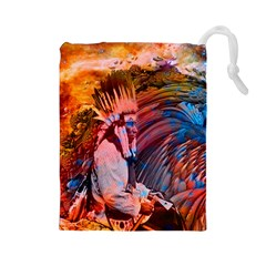 Astral Dreamtime Drawstring Pouch (Large)