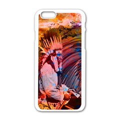 Astral Dreamtime Apple Iphone 6 White Enamel Case
