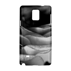 Light Black and White Rose Samsung Galaxy Note 4 Hardshell Case
