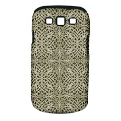 Silver Intricate Arabesque Pattern Samsung Galaxy S Iii Classic Hardshell Case (pc+silicone)
