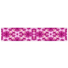 Floral Print Pink Passionate Dreams  Flano Scarf (Small)