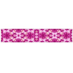 Floral Print Pink Passionate Dreams  Flano Scarf (Large)