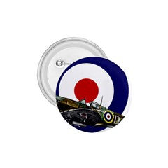 Spitfire And Roundel 1 75  Button