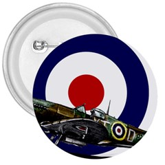 Spitfire And Roundel 3  Button