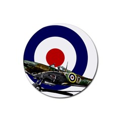 Spitfire And Roundel Drink Coasters 4 Pack (round)