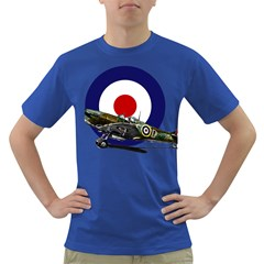 Spitfire And Roundel Men s T Shirt (colored)