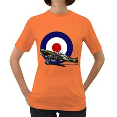 Spitfire And Roundel Women s T Shirt (colored)